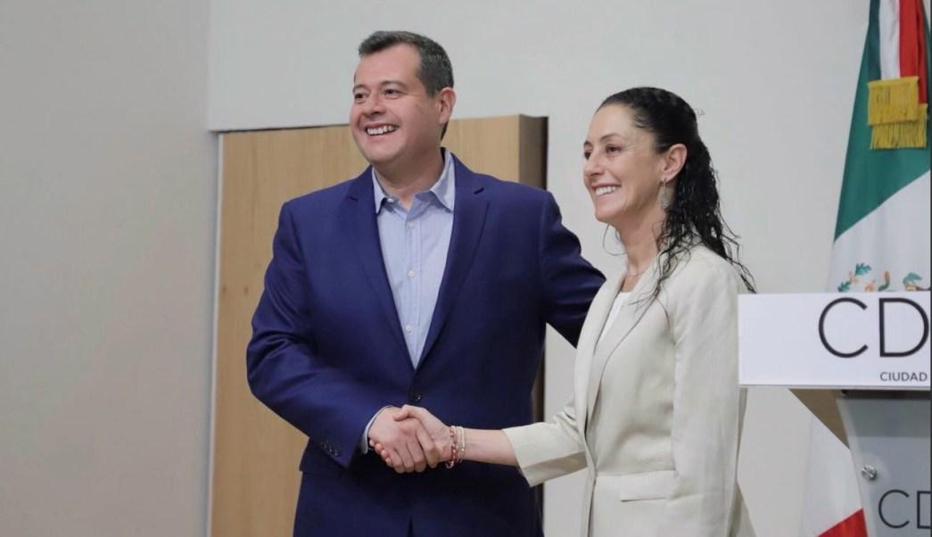 Sheinbaum, Amieva, se reúnen para acordar la transición de Gobierno