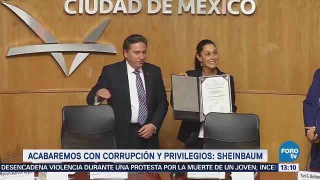 Sheinbaum Recibe Constancia Jefa De Gobierno Electa
