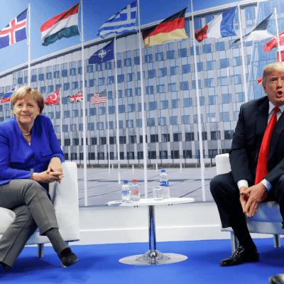 Trump y Merkel aseguran que mantienen una buena relación