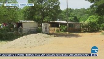 Apoyan a familias desplazadas por violencia en Tierra Caliente