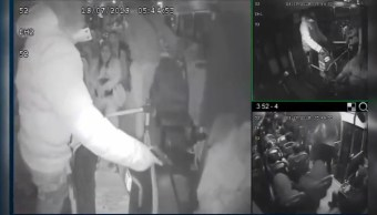 delincuentes asaltan pasajeros de camión de transporte público en Tlalpan