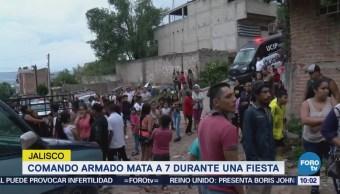 Asesinan a siete personas en Tlaquepaque, Jalisco