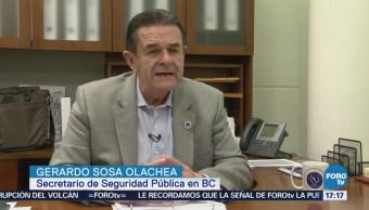 Ataque Dron Institución Secretario Seguridad Baja California