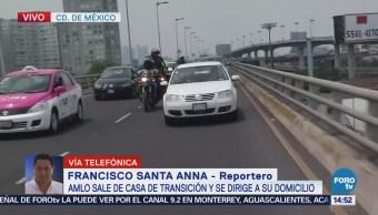 Automovilistas Saludan López Obrador Calles Cdmx