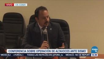 Autoridades Cdmx Explican Falla Altavoces Durante Sismo