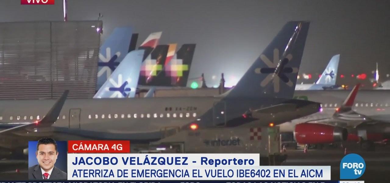 Avión de Iberia presentó falla en tren de aterrizaje