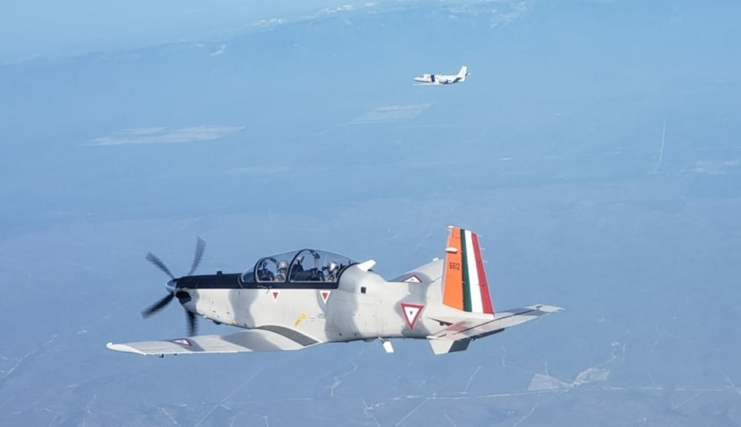 México y EU realizan ejercicio aéreo militar 'Amalgam Eagle 2018' en NL