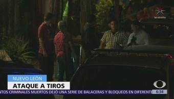 Balacera deja dos muertos en el municipio de Guadalupe, Nuevo León