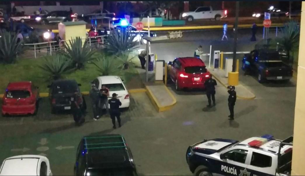 balacera centro comercial oaxaca deja herido