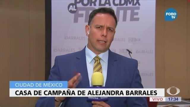 Barrales se mantiene en espera de resultados