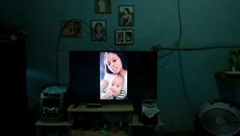 Bebé separado padres migrantes Estados Unidos Honduras