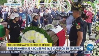 Bomberos Policías Recuperan Tras Explosión Tultepec