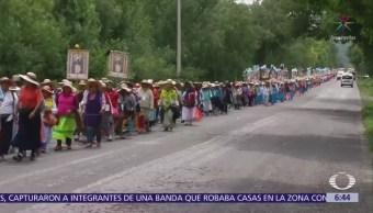 Camioneta atropella a siete peregrinos en la México-Querétaro