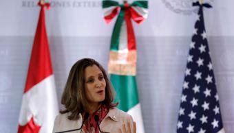 Canadá desestima tratado bilateral con EU, renegociará TLCAN