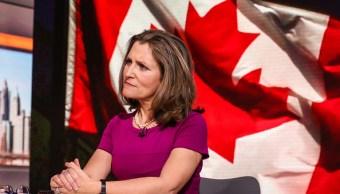 Canadá reitera represalia comercial Estados Unidos