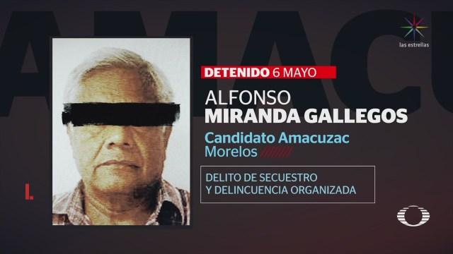 Candidato Preso Gana Elección Amacuzac Morelos