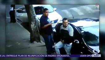 Captan a ladrones de autopartes en la delegación Álvaro Obregón, CDMX