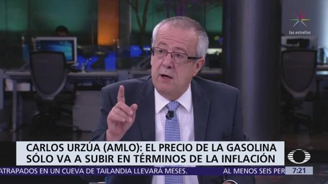 Carlos Urzúa, futuro secretario de Hacienda, en la mesa de Despierta