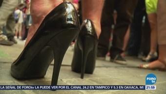 Carrera Tacones Orgullo Gay Madrid España