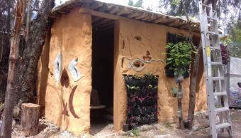 construyen casa sustentable jardin botanico chilpancingo guerrero