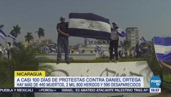 Protestas Nicaragua Contra Presidente Daniel Ortega