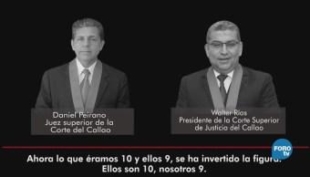 Casos de corrupción permean al Poder Judicial peruano