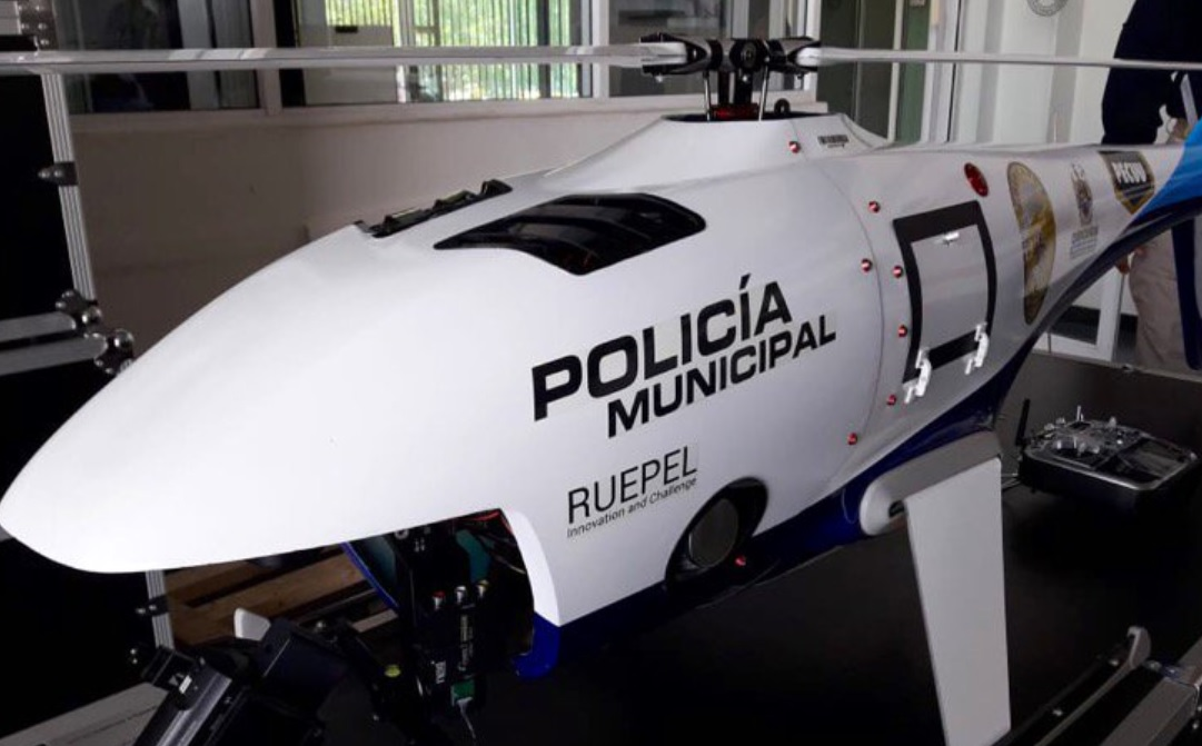 Con drones, Policía vigila municipio de Chihuahua