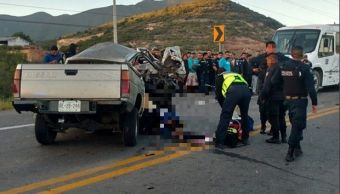 Choque deja tres muertos 15 lesionados Saltillo, Coahuila
