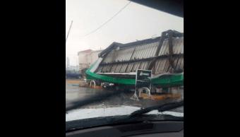 muerto ciudad juarez tormenta chihuahua inundaciones