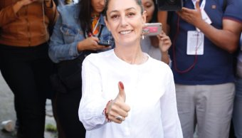 Claudia Sheinbaum gana la jefatura de Gobierno de CMDX