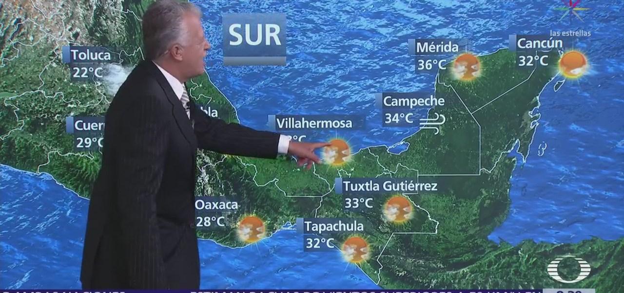 Clima Al Aire: Prevén cielo medio nublado en el Valle de México