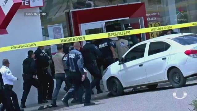 Comandante narra rescate de rehenes en banco de Sonora