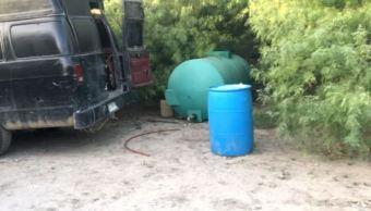 Policías de Nuevo León aseguran combustible ilegal