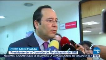 Comisión Fiscalización Ine Prepara Sanciones Candidatos