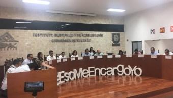 Crean comisiones para atender conflictos que impiden conteo de votos en Yucatán