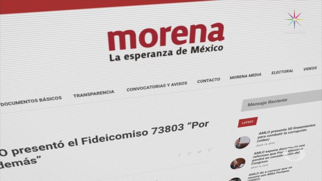 Cómo funciona el fideicomiso de Morena