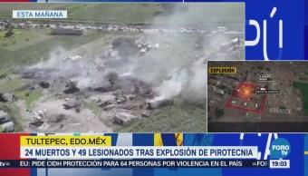 Confirman Muertos Explosiones Pirotecnia Tultepec Edomex