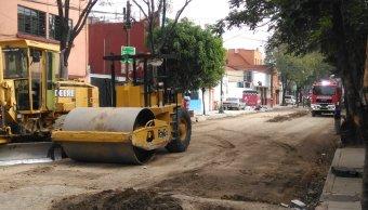 Controlan fuga de gas natural en la colonia Algarín, CDMX