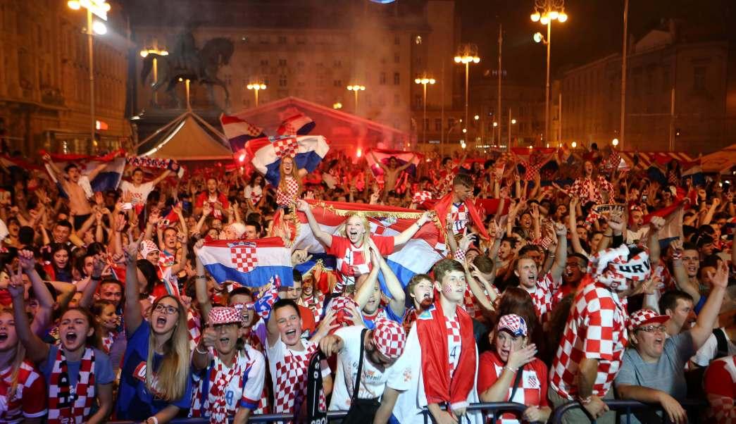 Croacia festeja histórico pase final Mundial Rusia