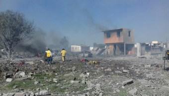 13 de 54 heridos por explosiones en Tultepec salen del hospital