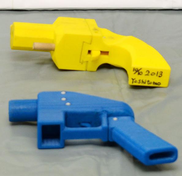 Polémica por las armas 3D — Iba a pasar