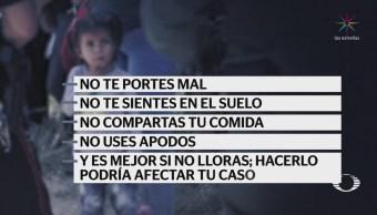 Denuncian maltrato contra menores migrantes retenidos