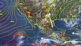 depresion tropical 7 e provoca alerta costas guerrero