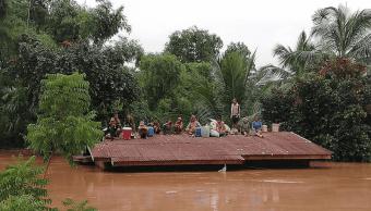 Se derrumba presa en Laos; hay varios muertos