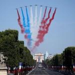 Francia celebra Fiesta Nacional previo al final del Mundial