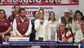 Claudia Sheinbaum denuncia compra de votos en la CDMX