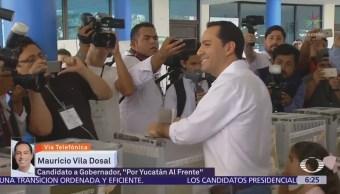 Mauricio Vila afirma que haría buen gobierno López Obrador