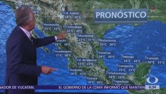 Despierta con Tiempo: Onda tropical 13 provocará lluvias en el occidente de México