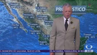 Despierta con Tiempo: Persisten calor y lluvias en México