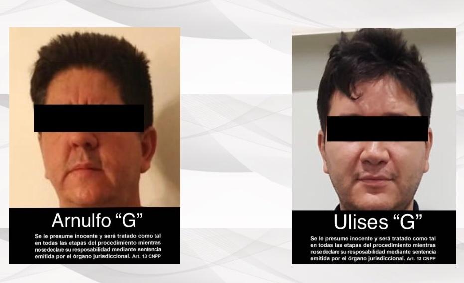 Detienen a dos sujetos vinculados al Cártel Jalisco Nueva Generación